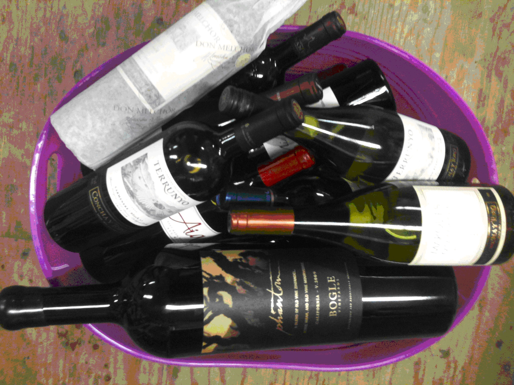 Decadent Assortment of Wines